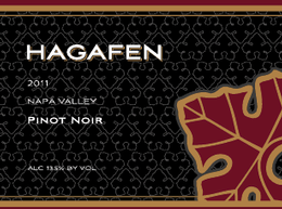2011 Hagafen Estate Bottled Pinot Noir