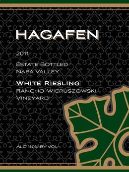 2011 Hagafen Napa Valley White Riesling