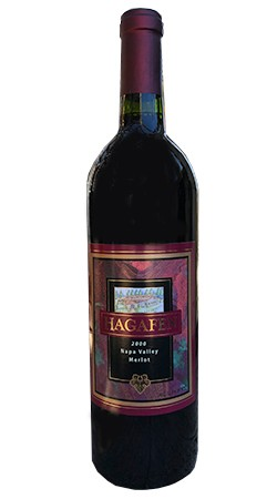 2000 Hagafen Merlot - Library Release Image