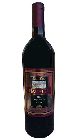 2002 Hagafen Merlot - Library Release Image