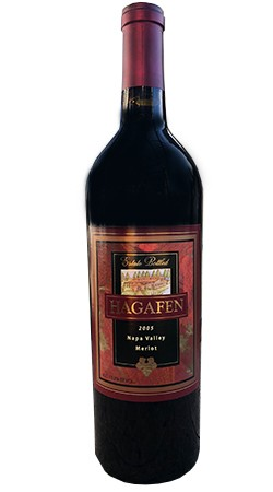 2005 Hagafen Merlot - Library Release Image