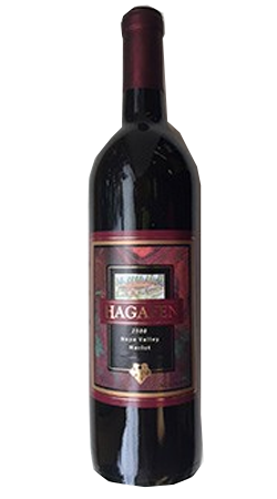 2003 Hagafen Merlot - Library Release Image